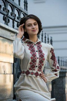 Ukranian folk dress.