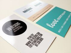 business cards / namecards
