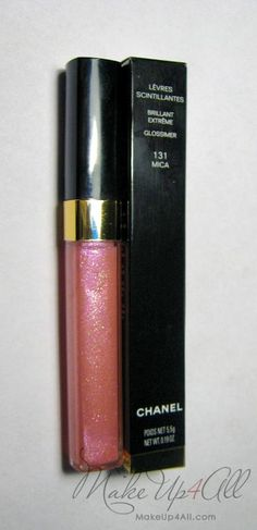 Chanel Glossimer in Mica. My favourite gloss ever.