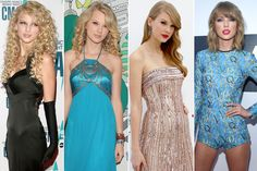 53 Photos That Highlight Taylor Swift's Dramatic Style Transformation Over the Years