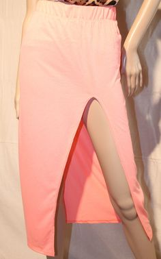 /beautiful-peach-maxi-skirt-with-slit-on