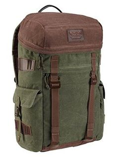 Burton Annex Pack Daypack, Forest Night Waxed Canvas, 51 x 27 x 18 cm Backpack Purse, Laptop Backpack, Purse Wallet, Pouch, Macho Alfa, Colorado, Snowboarding Gear, Burton Snowboards, Shopping
