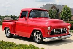 Chevrolet : Other Pickups Supercharged 1956 Chevrolet Pickup Supercharged Custom Street Rod - http://www.legendaryfind.com/carsforsale/chevrolet-other-pickups-supercharged-1956-chevrolet-pickup-supercharged-custom-street-rod-5/