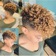 Healthy hair 45387908731121768 - Source by barrymaimou Natural Hair Short Cuts, Tapered Natural Hair, Short Curly Hair, Short Hair Cuts, Curly Hair Styles, Natural Hair Styles, Short Blunt Haircut, Short Bob Hairstyles, Haircuts