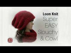 Loom Knit Netted Mesh Stitch Start to Finish 8 Rows - YouTube