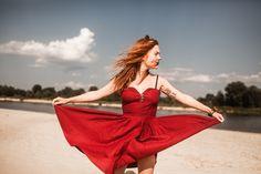 red dress www.hajde.pl