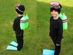 Cómo Hacer Un Disfraz De Buzo Casero Para Niños
