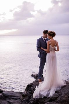 Tropical Maui destination wedding ideas | Photo by Brandon Kidd Photo | Read more - http://www.100layercake.com/blog/?p=80611