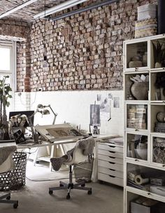 Industrial chic studio