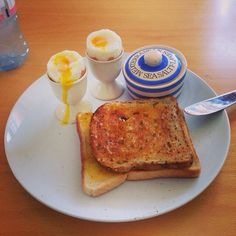 Dippy eggs #food #eggs