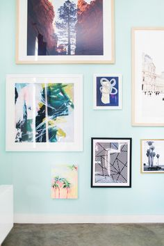 Gallery Wall - Inside  Whitney Port's Remodel (Photo)