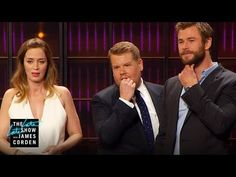 Cell Phone Profile w/ Charlize Theron, Emily Blunt, Chris Hemsworth & Jessica Chastain - YouTube