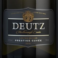 """25 Likes, 5 Comments - @triedandtruedesign on Instagram: """"Thinking it's a bubbles kind of day... recent brand & packaging evolution for Deutz Marlborough…"""""""