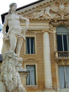Villa Barbaro, Architect Andrea Palladio,Villa Barbaro