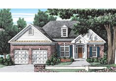 Sacramento - Home Plans and House Plans by Frank Betz Associates #sacramento #homeplans #frankbetz   #floorplans #affordablehouseplans Attic Master Bedroom, Attic Rooms, Attic Spaces, Attic Bathroom, Master Suite, Cottage Floor Plans, Country House Plans, House Floor Plans, Cottage House Designs