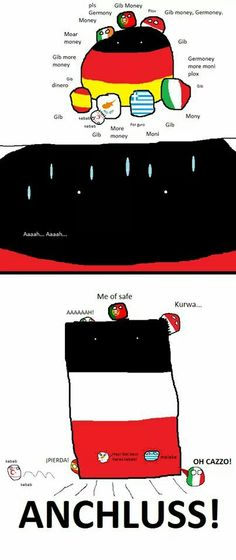 Polandball germany deutchland crisis in europe