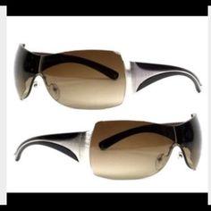 fa710195291 PRADA Sunglasses PRADA Rimless Sunglasses Authentic gently used in EUC.  Brown lenses with slight gradient