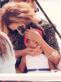 Beyonce & Blue Ivy at Picasso Museum in Antibes,France Sept. 9th,2014