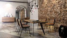 Avangard spisebord - Just Modern Kitchen Dining, Dining Table, Design Tisch, Industrial Design, Conference Room, Interior Design, Modern, Furniture, Home Decor