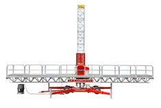 The Maxus is a robust workhorse of Scanclimber's mast climbing work platforms. Temporary Work, Scaffolding, How To Level Ground, Staging, Platforms, Ladder, Climbing, Role Play, Stairway