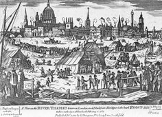 The Frost Fair: When the River Thames Froze Over Into London's Most Debaucherous Party | Atlas Obscura
