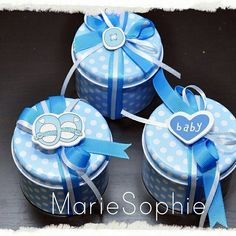 Baby blue box#μπομπονιέρα#  www.mariesophie.gr