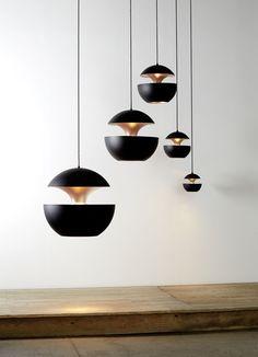 Aluminium pendant lamp HCS Ø175 by DCW éditions