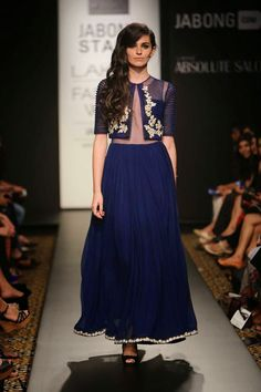 Ridhi Mehra lakme fashion week a/w 2014