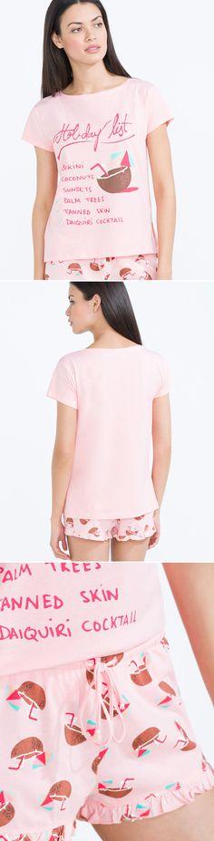 @womensecret Holiday list' short pyjama