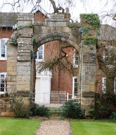 The archway at Kettlethorpe Manor, built by Katherine, the only contemporary part of the house still extant.  Katherine would have walked through this arch perhaps on her way to the church. Duke Of Lancaster, John Of Gaunt, Chester Cathedral, Family Tree Research, Hall House, William The Conqueror, Tudor Rose, Wars Of The Roses, Richard Iii