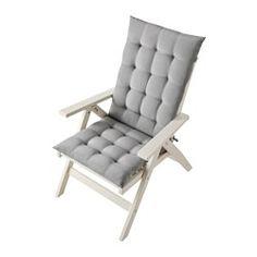 ÄPPLARÖ Reclining chair, outdoor - folding white, - - IKEA
