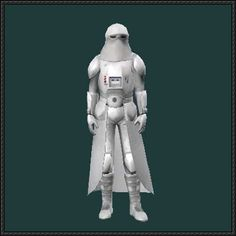 Star Wars - Snowtrooper Armor Free Papercraft Download - http://www.papercraftsquare.com/star-wars-snowtrooper-armor-free-papercraft-download.html