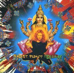 "Robert Plant, ""I Believe,"" UK promo single Track Pictures, Robert Plant Led Zeppelin, Rare Vinyl Records, Greatest Rock Bands, Rock Legends, Believe, Superhero, Plants, Painting"