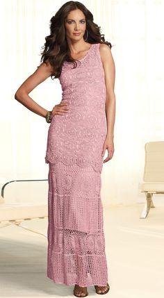 Inspirações de Croche com Any Lucy: Túnica,Saia e Vestido
