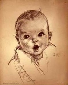 ~ She looks familiar. Portrait of Ann Turner Cook. The Gerber Baby!! :D Have always loved the Gerber Baby....aw.