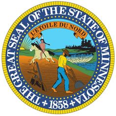 I love the sun in the state seal