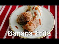 Banana frita com doce de leite - Receitas e TemperosReceitas e Temperos