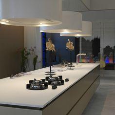 Woonbeurs 2014. In samenwerking met Paul van de Kooi, More Than Classic en Wave (nieuw model: 2610 Eiland afzuigkap en lamp).