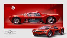 Mustang Mach 5 Concept by GaryCampesi on DeviantArt