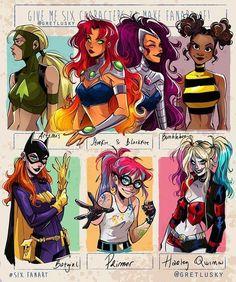 Teen Titans Fanart, Teen Titans Go, Art Style Challenge, Drawing Challenge, Dc Comics Art, Comics Girls, Dessin Lolirock, Cartoon Art Styles, Cute Drawings