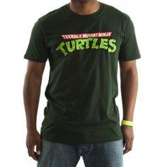 Amazon.com: Mens Teenage Mutant Ninja Turtles TMNT Logo T-shirt: Clothing