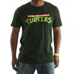 Amazon.com: Mens Teenage Mutant Ninja Turtles TMNT Logo T-shirt: Clothing
