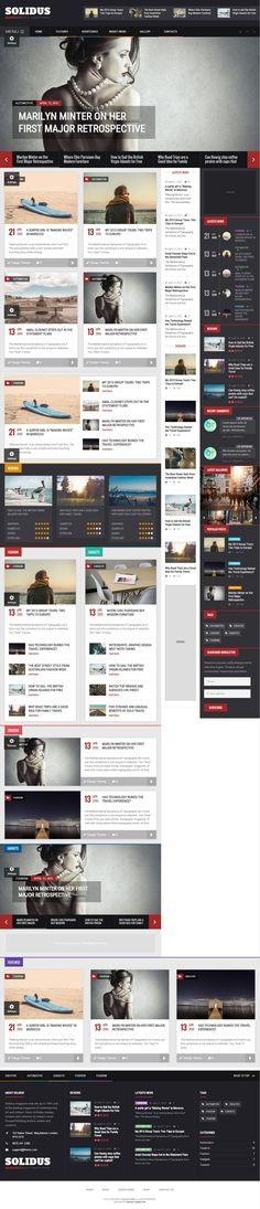 Solidus – Clean Magazine Theme #html5wordpressthemes #responsivewordpressthemes #wordpressthemes