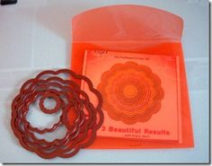 CD covers to store all those nesties!  Great idea!  Wish I had some nesties - but I use these CD cases for unmounted rubber stamps.