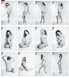 Resultado de imagen de centerfold poses