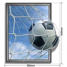 3d world cup voetbal muur stickers prachtige goal muurstickers - EUR € 9.69
