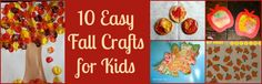 {Easy} Fall Crafts for Kids!