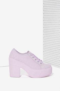 Shellys London Funcluo Platform Sneaker - Lilac
