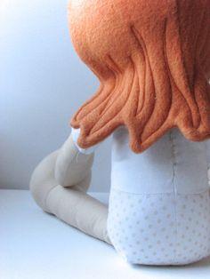 Patrón de costura encantadora muñeca por NimblePhish en Etsy