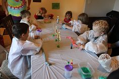 A Science Birthday Party: Part 2, Experiments